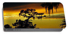 Central Florida Sunset Portable Battery Charger by David Lee Thompson