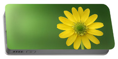 Flower Portable Battery Charger by Bess Hamiti