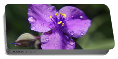 Portable Battery Charger featuring the photograph Flower by Heidi Poulin