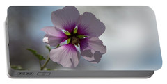 Flower In Focus Portable Battery Charger
