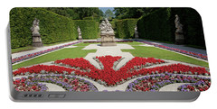 Flowerbeds And Sculptures In Eastern Parterre Portable Battery Charger