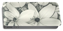 Flowers Pencil Portable Battery Charger