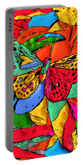Fly My Butterfly By Nico Bielow Portable Battery Charger