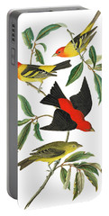 Portable Battery Charger featuring the photograph Flying Away by Munir Alawi