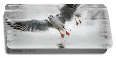 Flying Seagulls Portable Battery Charger