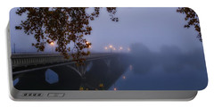 Fog On The River Portable Battery Charger