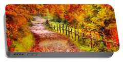 Fall Foliage Path 2 Portable Battery Charger