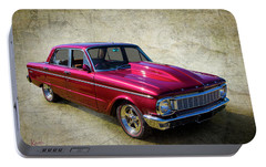 Portable Battery Charger featuring the photograph Ford Falcon by Keith Hawley