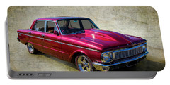 Ford Falcon Portable Battery Charger by Keith Hawley