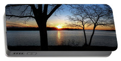 Ford Lake Sunset Portable Battery Charger