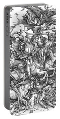 Four Horsemen Of The Apocalypse Portable Battery Charger