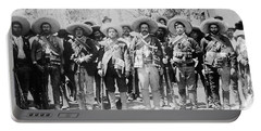 Francisco Pancho Villa Portable Battery Charger