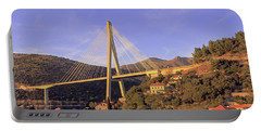Portable Battery Charger featuring the photograph Franjo Tudman Bridge by Tony Murtagh