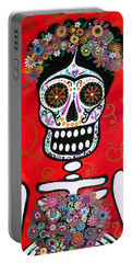 Frida Dia De Los Muertos Portable Battery Charger