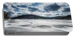 Frozen Lake Portable Battery Charger