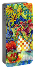 Fruit And Coleus Portable Battery Charger