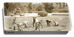 Gardeners, Centennial Exposition, 1876 Portable Battery Charger