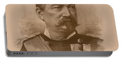 Portable Battery Charger featuring the drawing General Philip Sheridan by War Is Hell Store