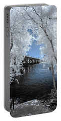 Gervais St. Bridge In Surreal Light Portable Battery Charger