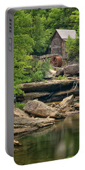 Portable Battery Charger featuring the photograph Glade Creek Grist Mill by Travis Rogers