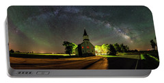 Portable Battery Charger featuring the photograph Glorious Night by Aaron J Groen