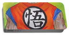 Goku Kanji Portable Battery Charger