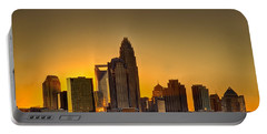 Golden Charlotte Skyline Portable Battery Charger