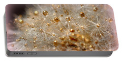 Golden Flower Portable Battery Charger