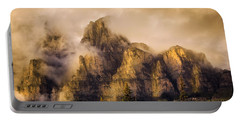Portable Battery Charger featuring the photograph Golden Glow by Ronald Santini