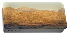 Golden Light In Andalusia Portable Battery Charger