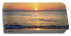 Portable Battery Charger featuring the photograph Golden Sunrise  by Barbara Ann Bell