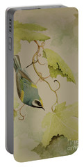 Golden-winged Warbler Portable Battery Charger