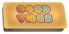 Good Vibes Portable Battery Charger