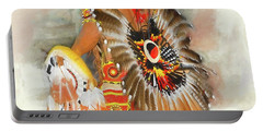 Grand Prairie Texas Pow-wow Portable Battery Charger