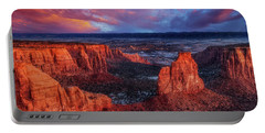 Grand View Sunrise Portable Battery Charger