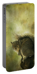 Gray Squirrel Portable Battery Charger