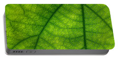 Green Leaf Macro Portable Battery Charger