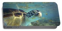 Green Sea Turtle Balicasag Island Portable Battery Charger