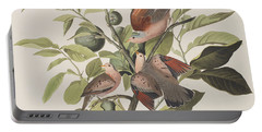 Ground Dove Portable Battery Charger by John James Audubon