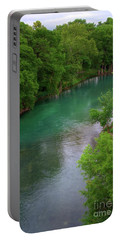 Guadeloupe River Portable Battery Charger by Kelly Wade