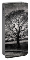 Hagley Tree Portable Battery Charger by Roseanne Jones
