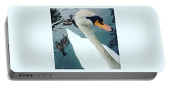 Hakucho Means Swan  Portable Battery Charger