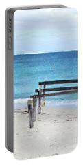 Hamelin Bay I Portable Battery Charger by Cassandra Buckley