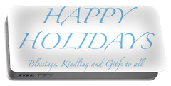 Happy Holidays - Day 2 Portable Battery Charger