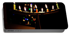 Portable Battery Charger featuring the photograph Happy Holidays by Susan Stone