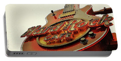 Hard Rock Cafe' Portable Battery Charger by Al Fritz