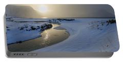 Haukland Beach, Lofoten Portable Battery Charger