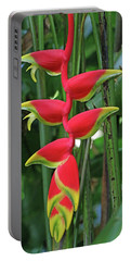 Hawaii Flora Portable Battery Charger by Denise Moore