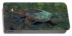 Hawaiian Sea Turtle Portable Battery Charger