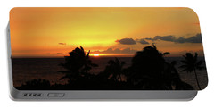 Portable Battery Charger featuring the photograph Hawaiian Sunset by Anthony Jones
